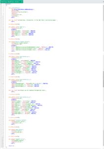 Kod akcji nagranego skryptu z Action.c w VuGen edytorze